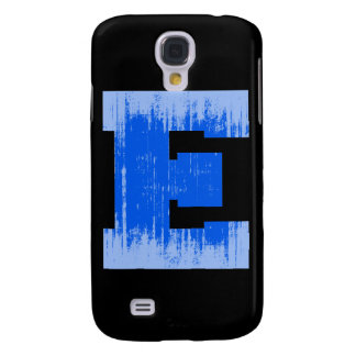 LETTER PRIDE E BLUE VINTAGE png Samsung Galaxy S4 Covers