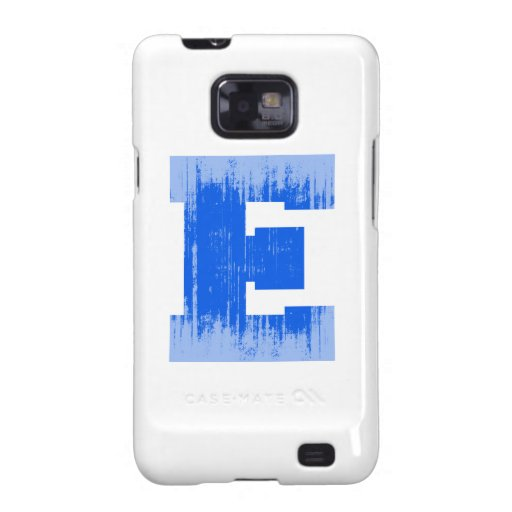 LETTER PRIDE E BLUE VINTAGE.png Samsung Galaxy Covers