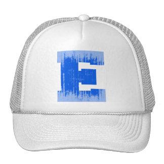 LETTER PRIDE E BLUE VINTAGE.png Hats