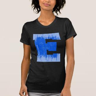 LETTER PRIDE E BLUE VINTAGE.png T Shirts