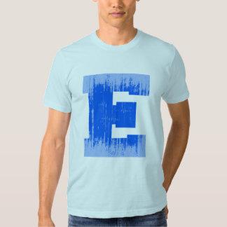 LETTER PRIDE E BLUE VINTAGE.png Tee Shirts