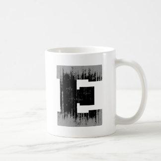 LETTER PRIDE E VINTAGE.png Basic White Mug