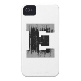 LETTER PRIDE E VINTAGE.png iPhone 4 Cases