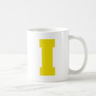 Letter Pride I Yellow.png Basic White Mug