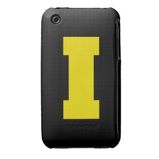 Letter Pride I Yellow.png iPhone 3 Case-Mate Case
