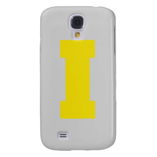 Letter Pride I Yellow png Samsung Galaxy S4 Covers