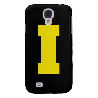 Letter Pride I Yellow.png Galaxy S4 Cases