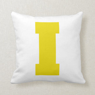 Letter Pride I Yellow.png Pillows