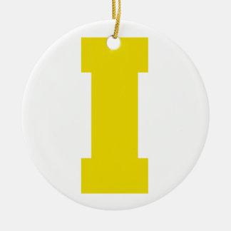 Letter Pride I Yellow.png Ornaments