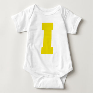 Letter Pride I Yellow.png Infant Creeper