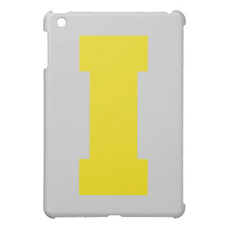 Letter Pride I Yellow.png iPad Mini Cover