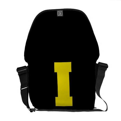 Letter Pride I Yellow.png Messenger Bag