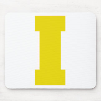Letter Pride I Yellow png Mousepad