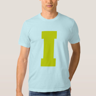Letter Pride I Yellow.png T-shirts