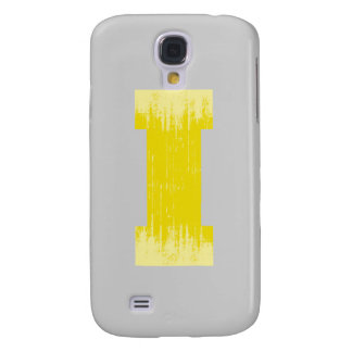 LETTER PRIDE I YELLOW VINTAGE.png Galaxy S4 Case