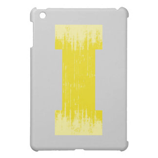 LETTER PRIDE I YELLOW VINTAGE.png iPad Mini Cases