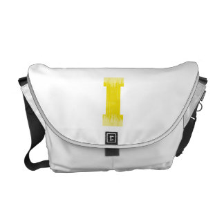 LETTER PRIDE I YELLOW VINTAGE.png Courier Bags