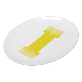 LETTER PRIDE I YELLOW VINTAGE.png Party Plates