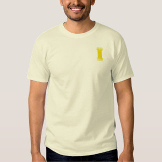 LETTER PRIDE I YELLOW VINTAGE.png Shirts
