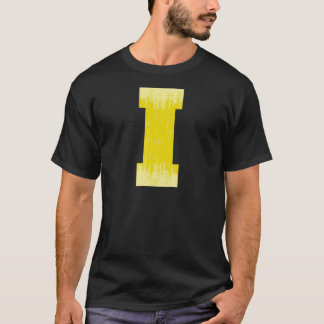 LETTER PRIDE I YELLOW VINTAGE.png T-Shirt