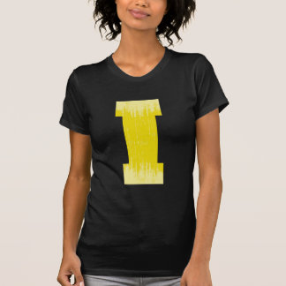 LETTER PRIDE I YELLOW VINTAGE.png T Shirt
