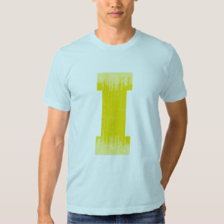 LETTER PRIDE I YELLOW VINTAGE.png T Shirts