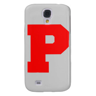 Letter Pride P Red png Galaxy S4 Covers