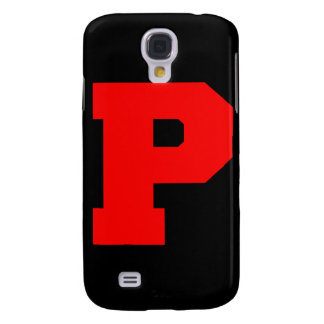 Letter Pride P Red png Galaxy S4 Cover