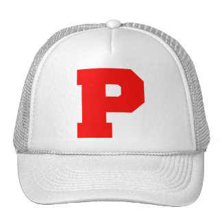 Letter Pride P Red.png Mesh Hat