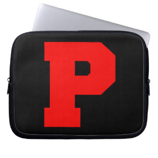Letter Pride P Red png Computer Sleeves