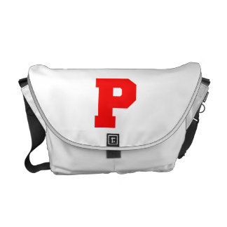 Letter Pride P Red.png Commuter Bags
