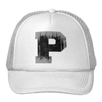 LETTER PRIDE P VINTAGE.png Mesh Hat