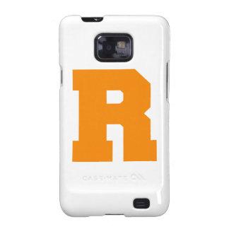 Letter Pride R Orange.png Samsung Galaxy S2 Case
