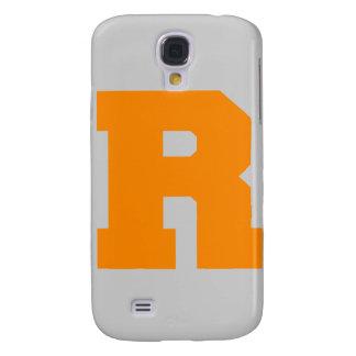 Letter Pride R Orange png Samsung Galaxy S4 Cover