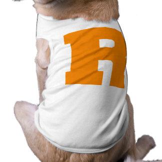 Letter Pride R Orange png Dog Clothing