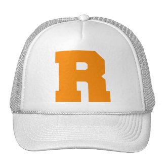 Letter Pride R Orange.png Mesh Hat