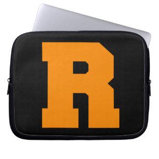 Letter Pride R Orange png Laptop Computer Sleeve