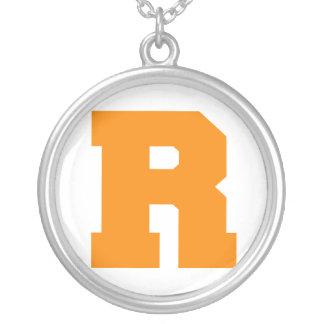 Letter Pride R Orange png Pendants
