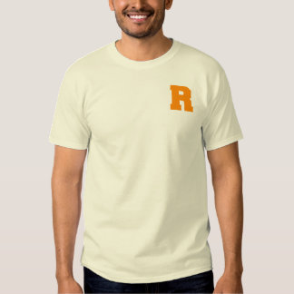 Letter Pride R Orange.png Shirts
