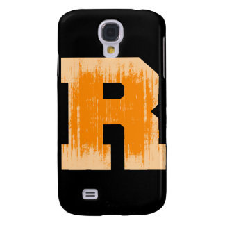 LETTER PRIDE R ORANGE VINTAGE.png Galaxy S4 Case