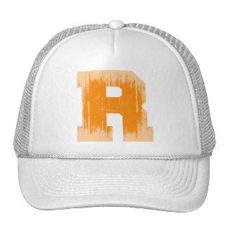 LETTER PRIDE R ORANGE VINTAGE.png Mesh Hats