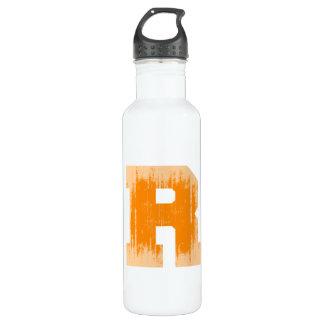 LETTER PRIDE R ORANGE VINTAGE.png 710 Ml Water Bottle
