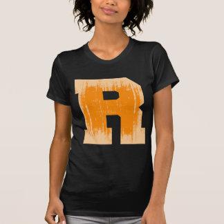LETTER PRIDE R ORANGE VINTAGE.png T-shirts