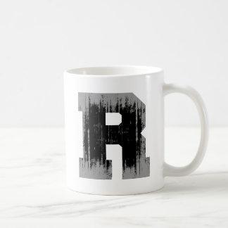 LETTER PRIDE R VINTAGE.png Basic White Mug