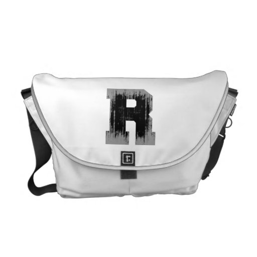 LETTER PRIDE R VINTAGE.png Messenger Bags