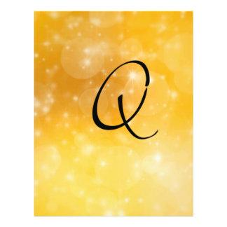 Letter Q 21.5 Cm X 28 Cm Flyer