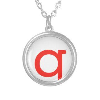 Letter Q Necklaces
