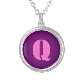 Letter Q Necklace