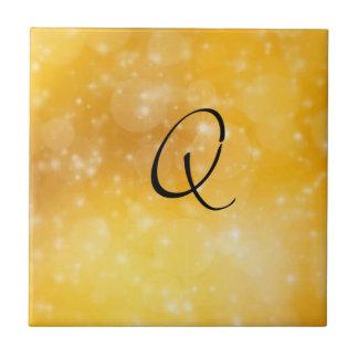 Letter Q Ceramic Tiles