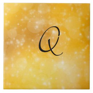 Letter Q Ceramic Tile